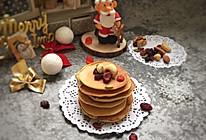 坚果香蕉松饼#令人羡慕的圣诞大餐#的做法
