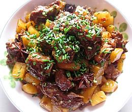 土豆烧排骨(川味版)的做法