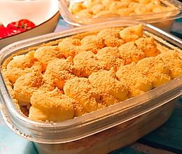 黄豆粉与奶油奶酪神奇相遇的豆乳盒子蛋糕的做法