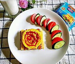 条纹芝士三明治#百吉福食尚达人#的做法