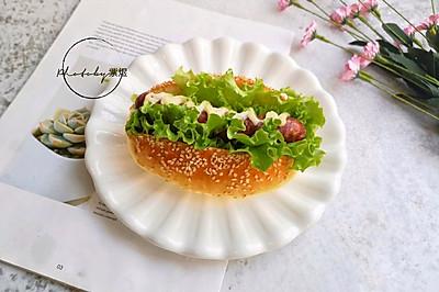 热狗面包#网红美食我来做#