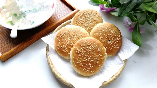 蜜香豆馅烧饼#硬核菜谱制作人#的做法