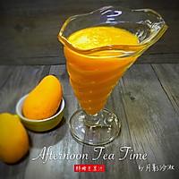 鲜榨芒果汁(破壁机)的做法图解3