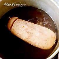 红糖桂花糯米藕的做法图解3