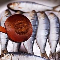 #带着零食去旅行!#干炸海鲫鱼的做法图解8