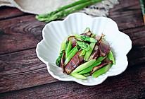 芦笋炒腊肉#母亲节,给妈妈做道菜#的做法
