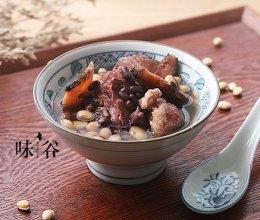 双豆土茯苓猪骨汤的做法