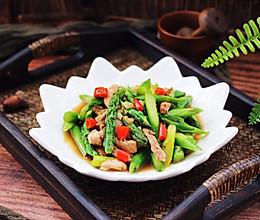#精品菜谱挑战赛#芦笋炒肉的做法