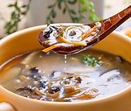 鸡丝酸辣汤的做法