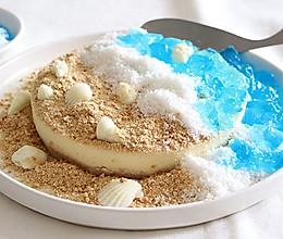 这块蛋糕上有片阳光海滩的做法