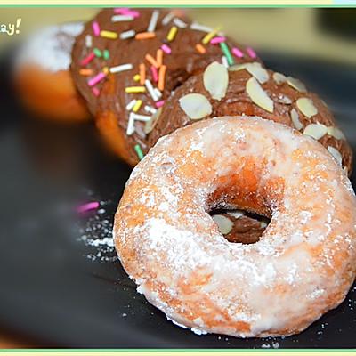 软糯的甜甜圈