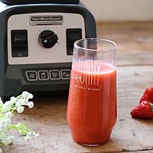 草莓苹果醋饮