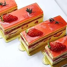 草莓慕斯蛋糕(视频菜谱)