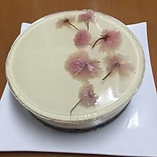 浪漫樱花芝士蛋糕
