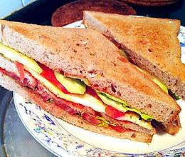健康减肥三明治的做法