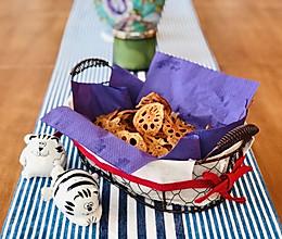聚会不可少的炸藕片#中秋团圆食味#的做法
