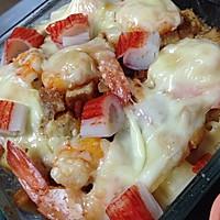 西班牙焗烤海鲜饭的做法图解4
