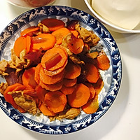 上班族的快手菜-胡萝卜炒肉#自选菜品#