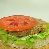 【微体】活力双倍!牛肉米汉堡的做法图解17