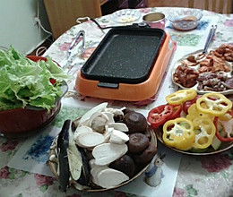 烤羊肉前准备的做法