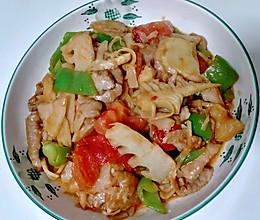 竹笋炒肉片的做法