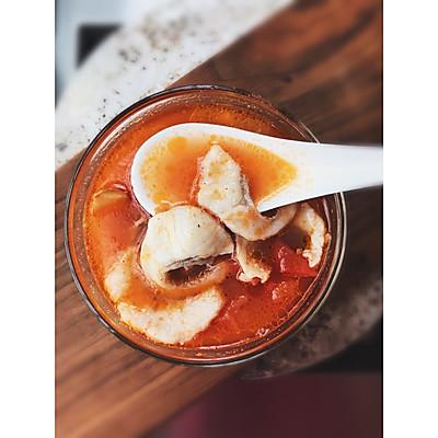 番茄鱼片浓汤