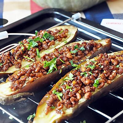 #食尚争霸 格兰仕微波炉试用之肉末酿茄子