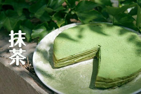 抹茶千层蛋糕的做法