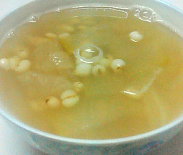 春季薏米冬瓜雪梨淡甜汤的做法