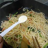 #菁选酱油试用之酱油炒面的做法图解9