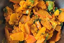 五花肉炒南瓜的做法