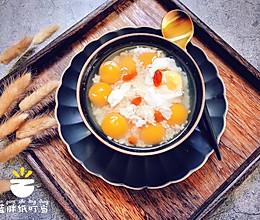 养颜润燥 酒酿水波蛋南瓜圆子汤的做法