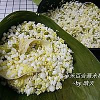 小米百合薏米粽