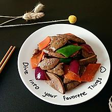 熘肝尖#每道菜都是一台食光机#
