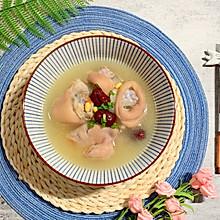 #精品菜谱挑战赛# 黄豆红枣枸杞猪脚汤