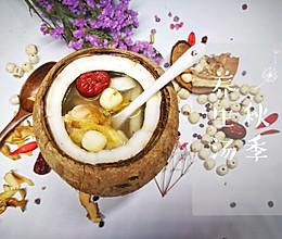 秋季养生汤——椰子玉竹炖鸡的做法