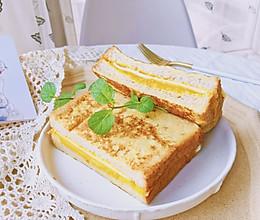 #洗手作羹汤#瘦身低卡—酸奶南瓜芝士三明治的做法
