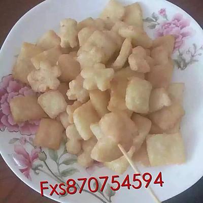 大米锅巴饼干