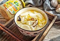 白菜肉丝年糕汤#相聚组个局#的做法