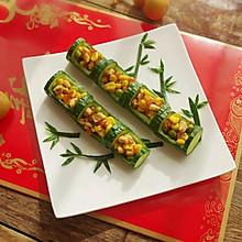 #新年开运菜,好事自然来#节节高升,竹报平安
