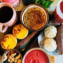 #换着花样吃早餐#榴莲蛋挞和美式更搭哦