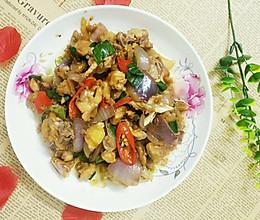 香辣葱爆兔肉的做法