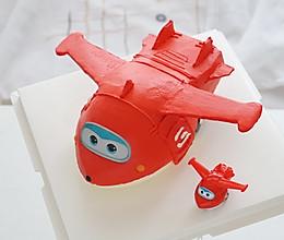 小飞机蛋糕——超级飞侠乐迪的做法