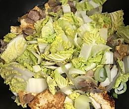 五花肉炖白菜豆腐粉条的做法
