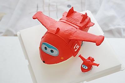 小飞机蛋糕——超级飞侠乐迪