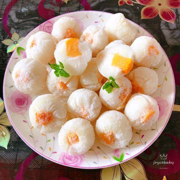 荔枝芒果酸奶冻