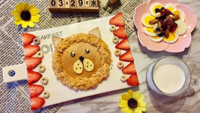儿童早餐—狮子吐司