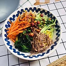 清凉解暑蔬菜玉米面
