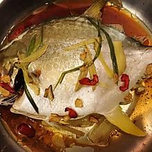 清蒸金鲳鱼 清蒸鱼