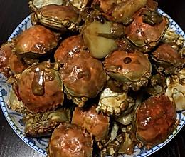 香辣年糕蟹的做法
